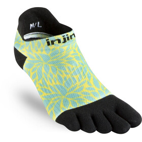 Injinji Run Coolmax Xtra - Chaussettes course à pied Femme - jaune/turquoise